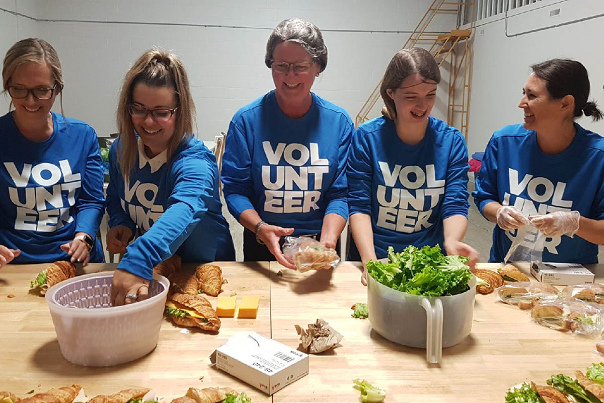 Food for Thought Team: Covid-19 Response Team  Serves  Over 17,300  Hot Meals